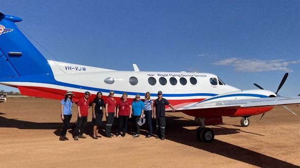 RFDS (Queensland Section) Health Promotions Officer Judith Taylor