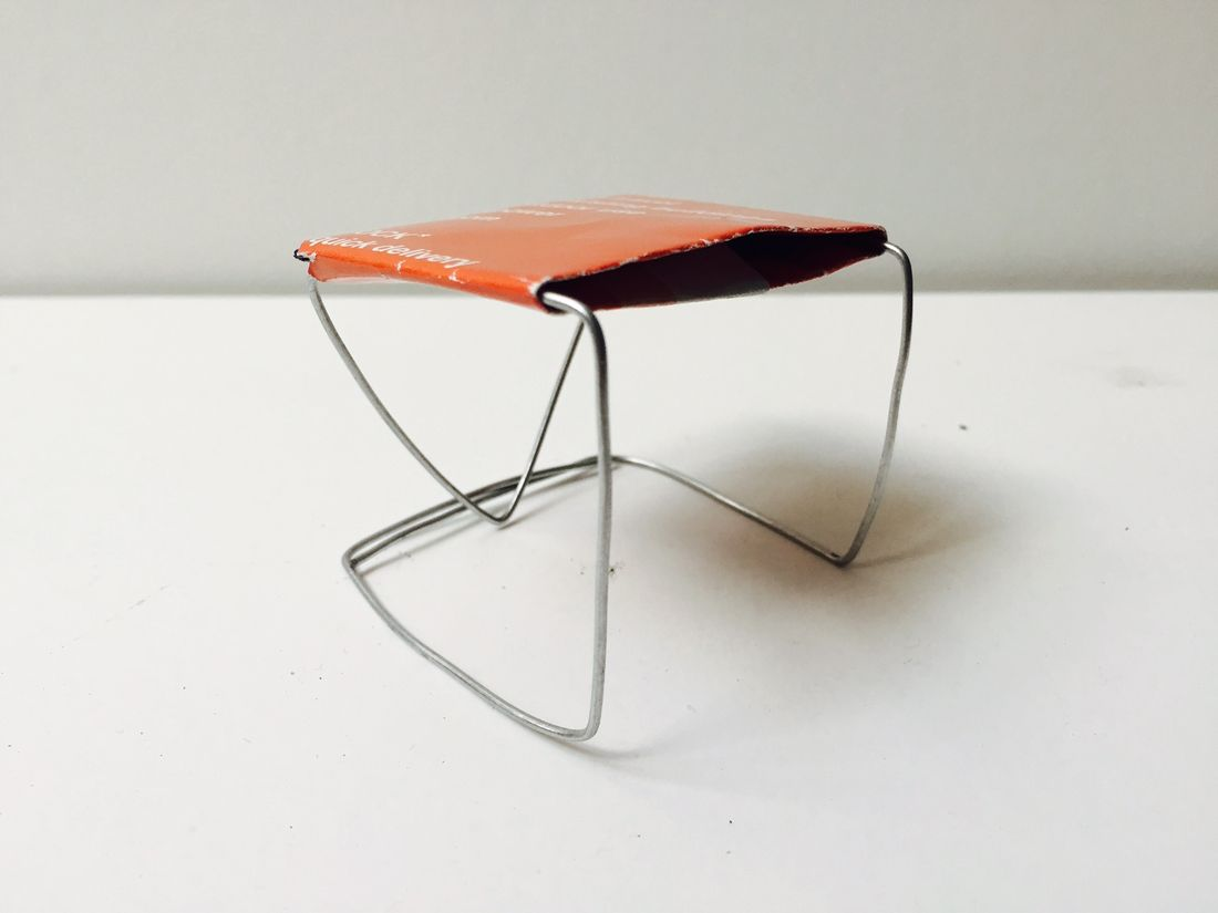 Nicole Monks kangaroo chair