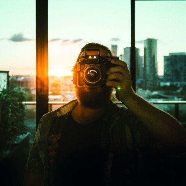 Angus Lee Forbes self portrait 2017.