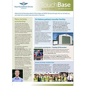 Touch Base - Nov 2013