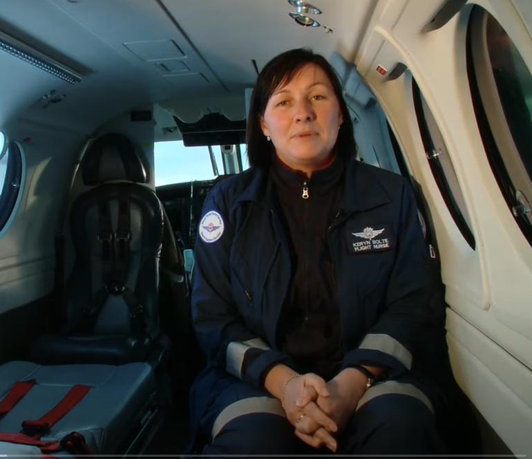 RFDS Flight Nurse