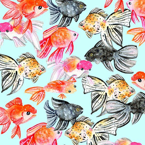 Jessthechen Goldfish A5 Pattern