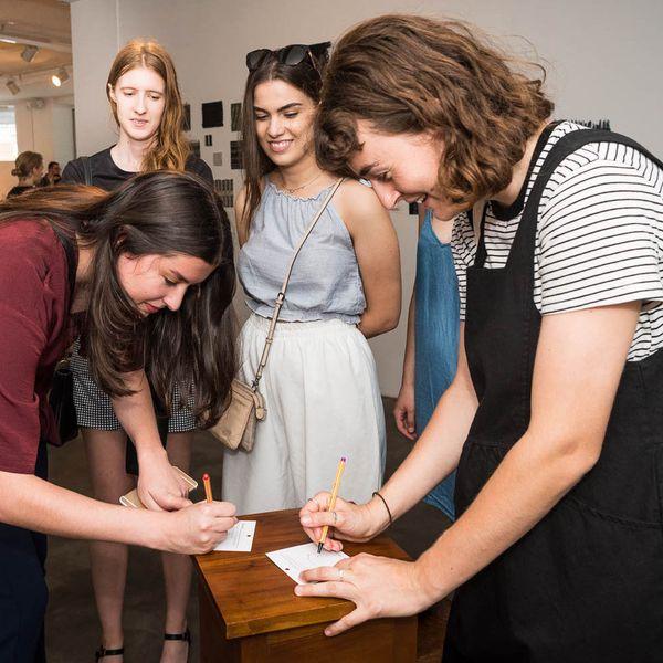 Designing Bright Futures opening night #2 Photo Rhiannon Hopley