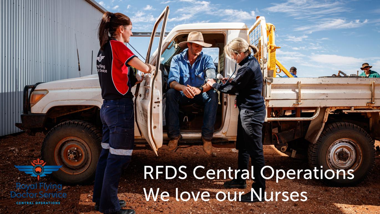 RFDS flight nurses