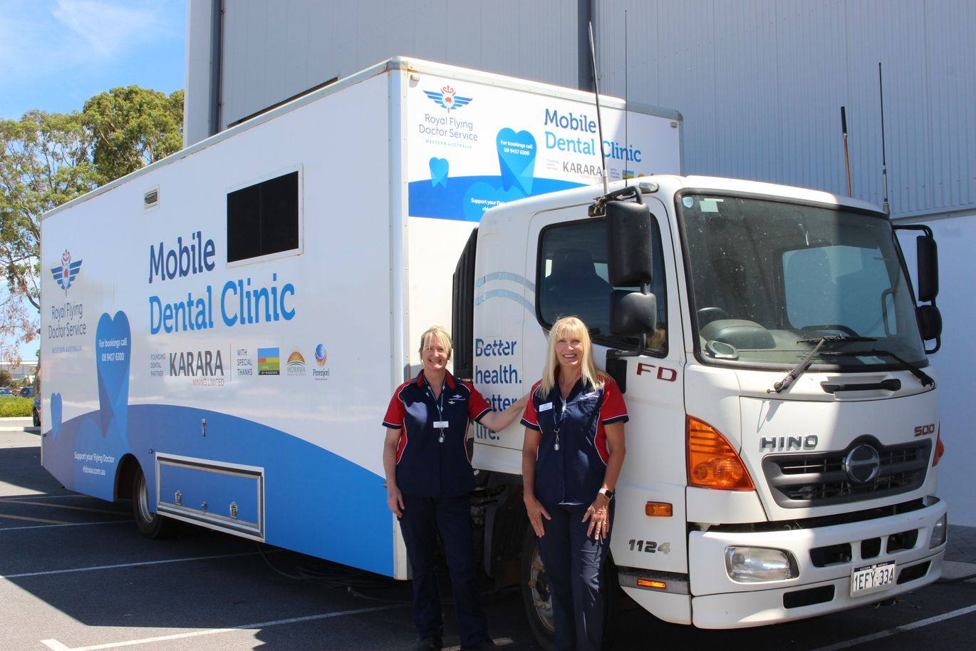 dental van wendy andrews fiona greenlaw