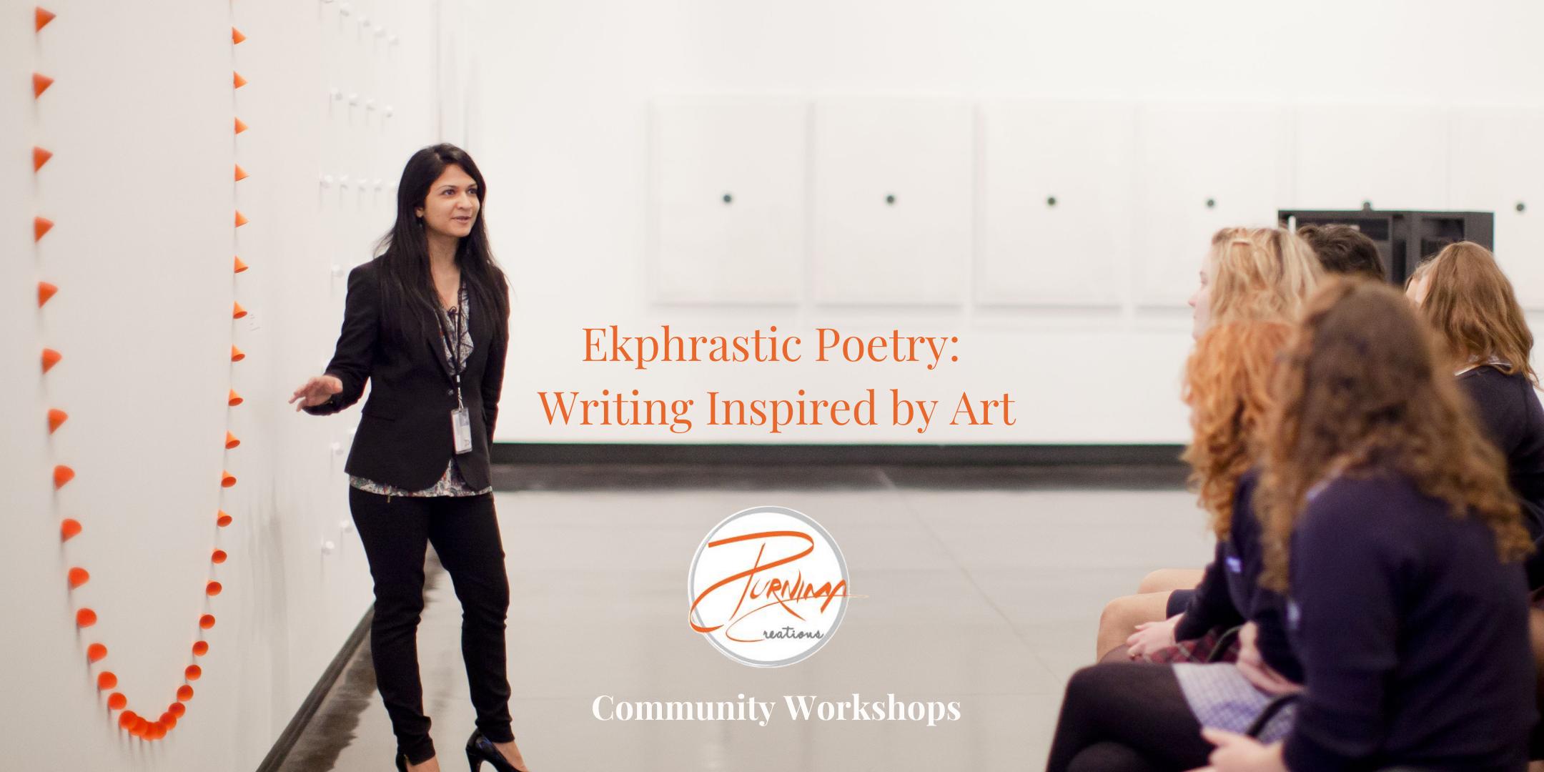 Ekphrastic Poetry: Writing Inspired by Art with Purnima Ghogar