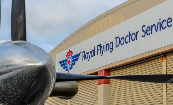 The RFDS Tasmania Launceston Hangar