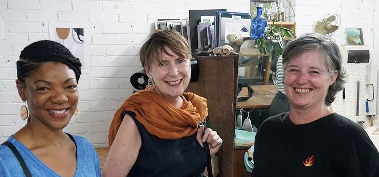 Marcia Swaby, Helen Wyatt, Fiona Meller