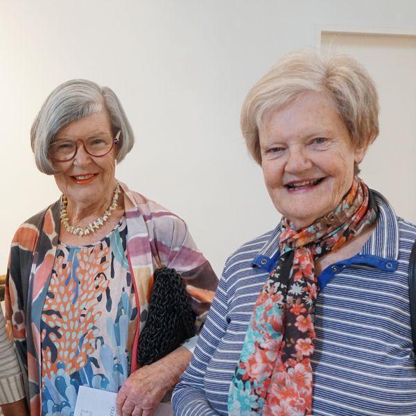Megan Patey, Gillian McCracken with Jane Burns