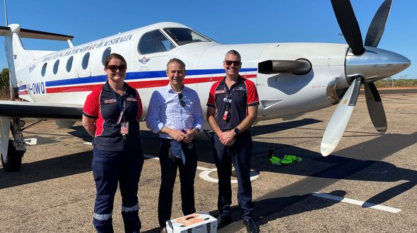 Minister visit RFDS