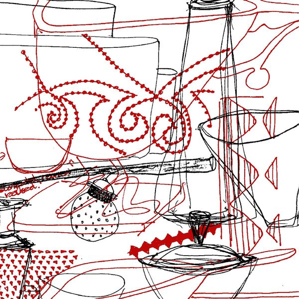 Prue Venables journal illustrations
