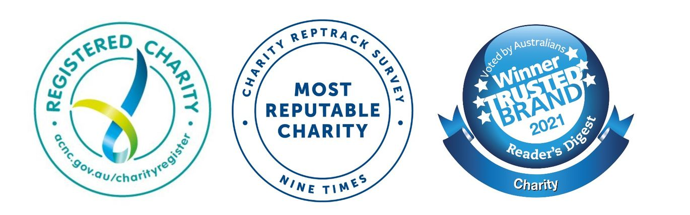 Stamps for Most Trusted charity
