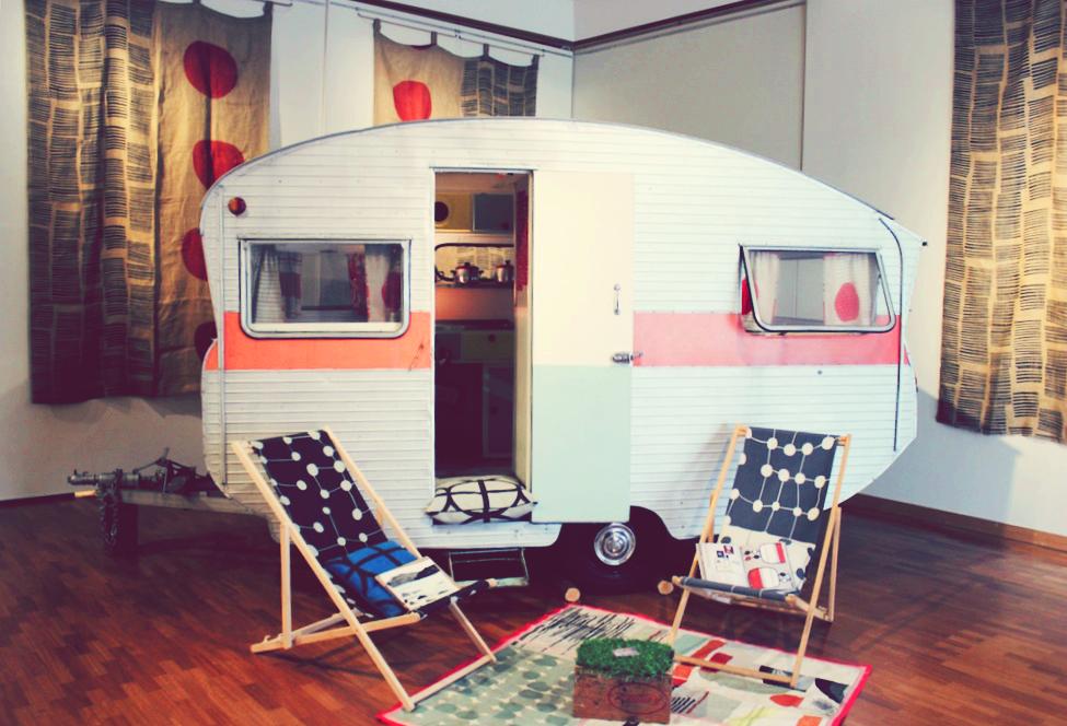 Julie Paterson's caravan