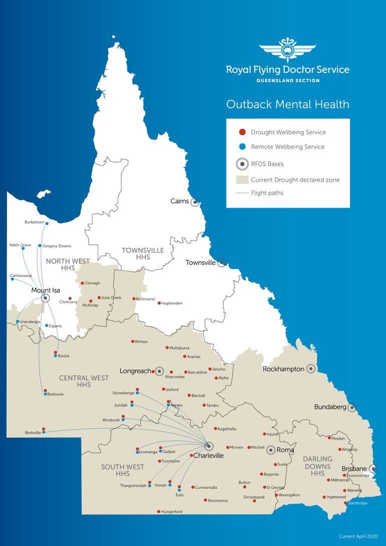 RFDS OMH Map