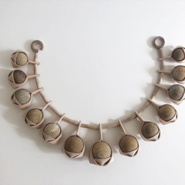 Sandstone Musubi Necklace