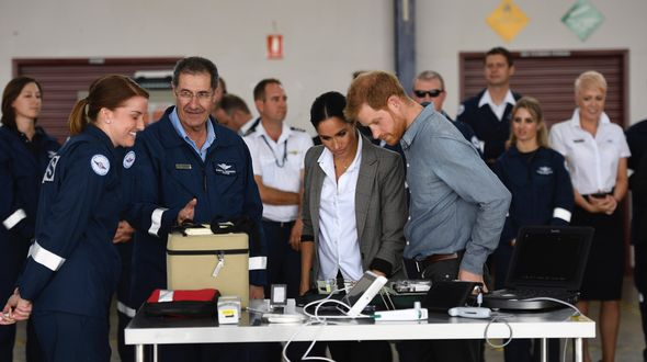 TRH Prince Harry and Meghan reveal name of new aircraft