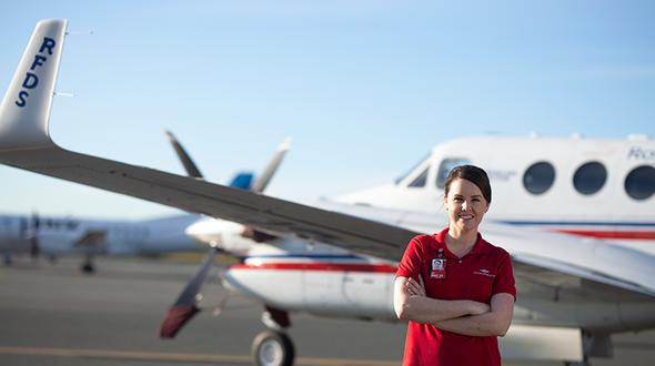 Flight Nurse celebrates 10 years with the Service
