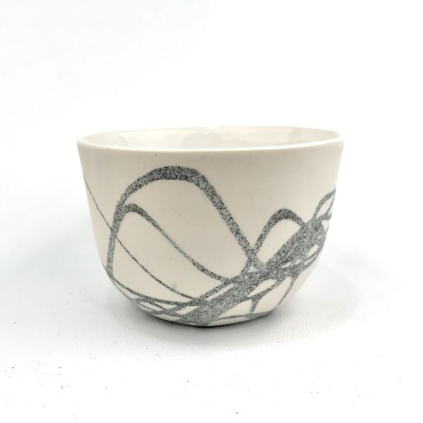Kristina Cooke, Squiggle Cup, 2020. Photo: Courtesy of the artist