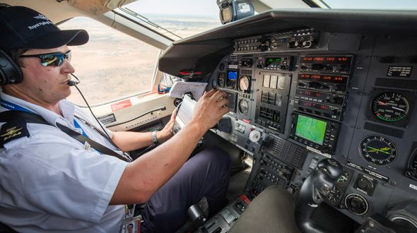 RFDS pilot Nick Tully