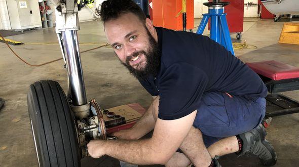 sam bruce works on place apprentice engineer