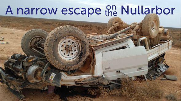 Nullarbor car crash