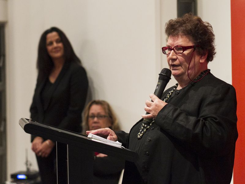Lola Greeno opening night of Cultural Jewels