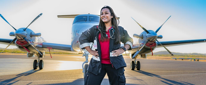 Flight Nurse Sabrina