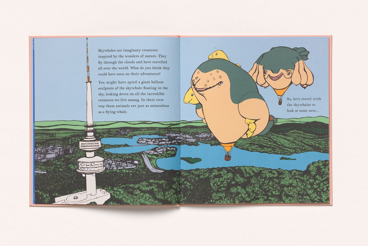 image of double page spread from children's book