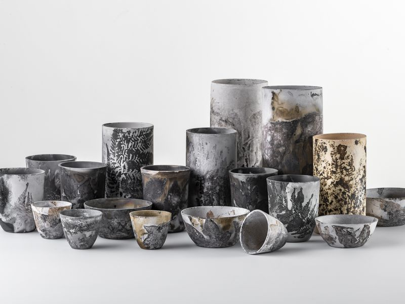Elisa Bartels, Black Fired Ceramics, 2019_Image by Greg Piper 01
