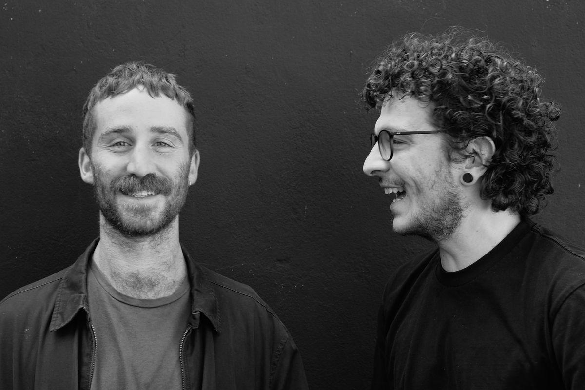 Jordan Silver and Stefano Di Lorenzo, portrait