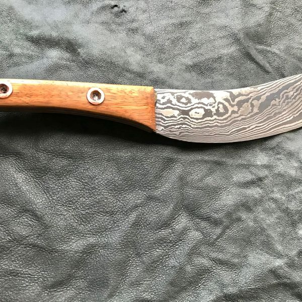 Damascus Knife 2