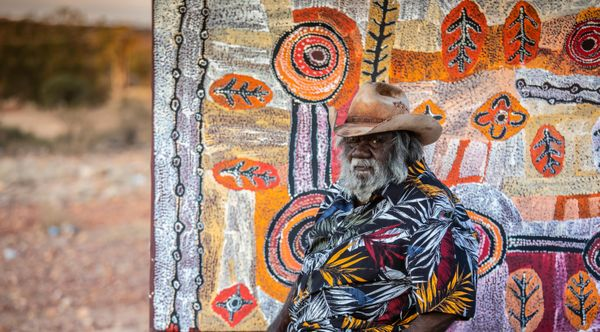 Alec Baker, Indulkana, South Australia