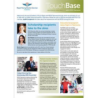 Touch Base - Nov 2012