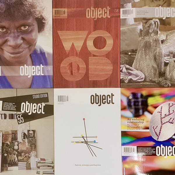 Object Magazine cover images