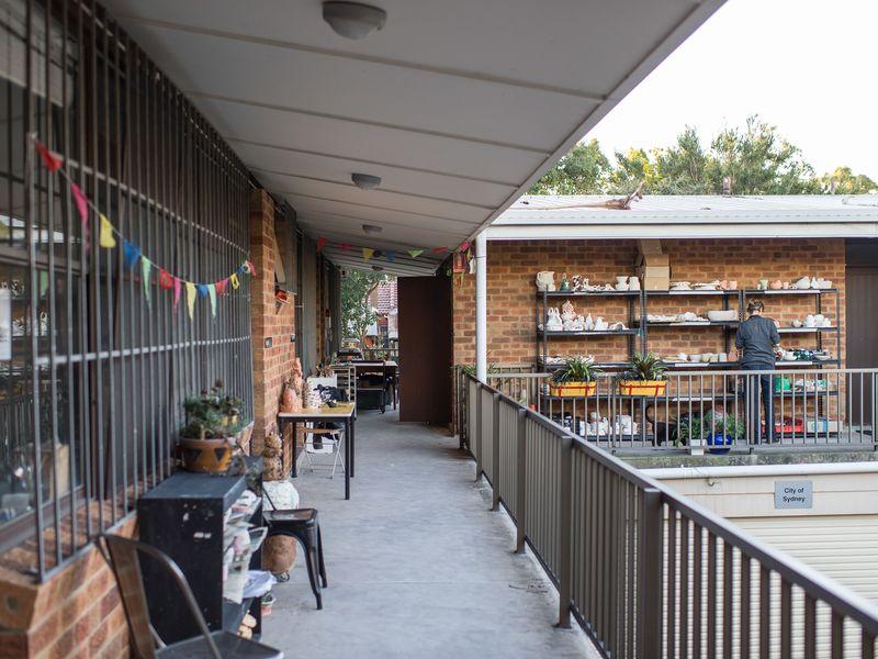 Kilnit studios Glebe balcony view