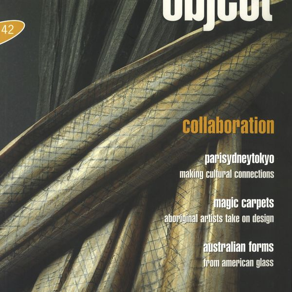 Object Magazine Issue 42 cover