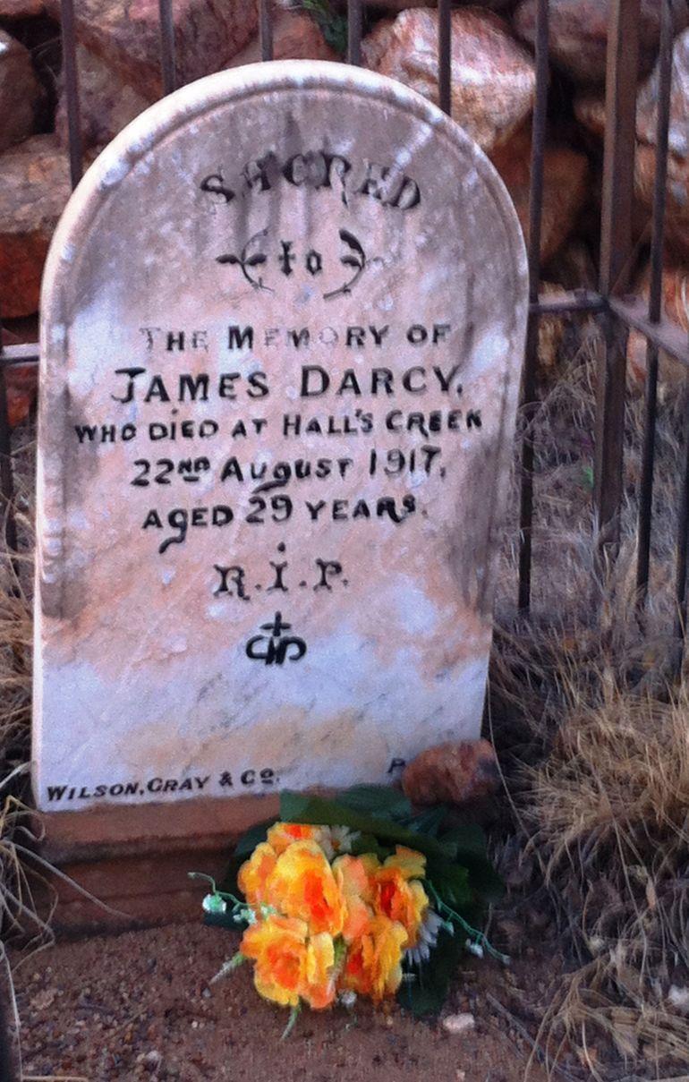 Jimmy Darcy headstone