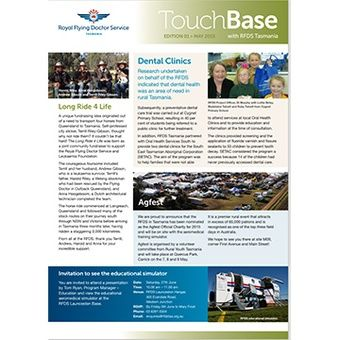 Touch Base - May 2015