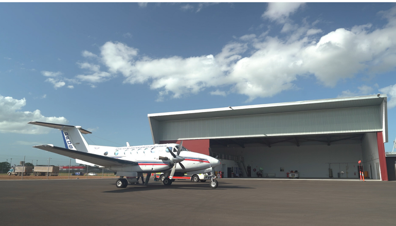 RFDS and LifeFlight timelapse