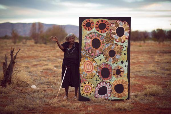 Doris Bush Nungarrayi, Papunya, Northern Territory
