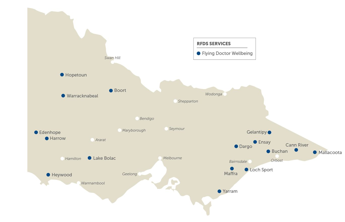 Wellbeing services map
