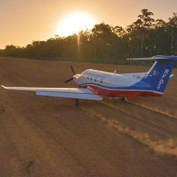Plane Dirt Runway