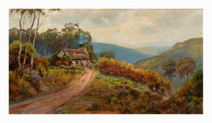 Image of In the ranges, autumn morning