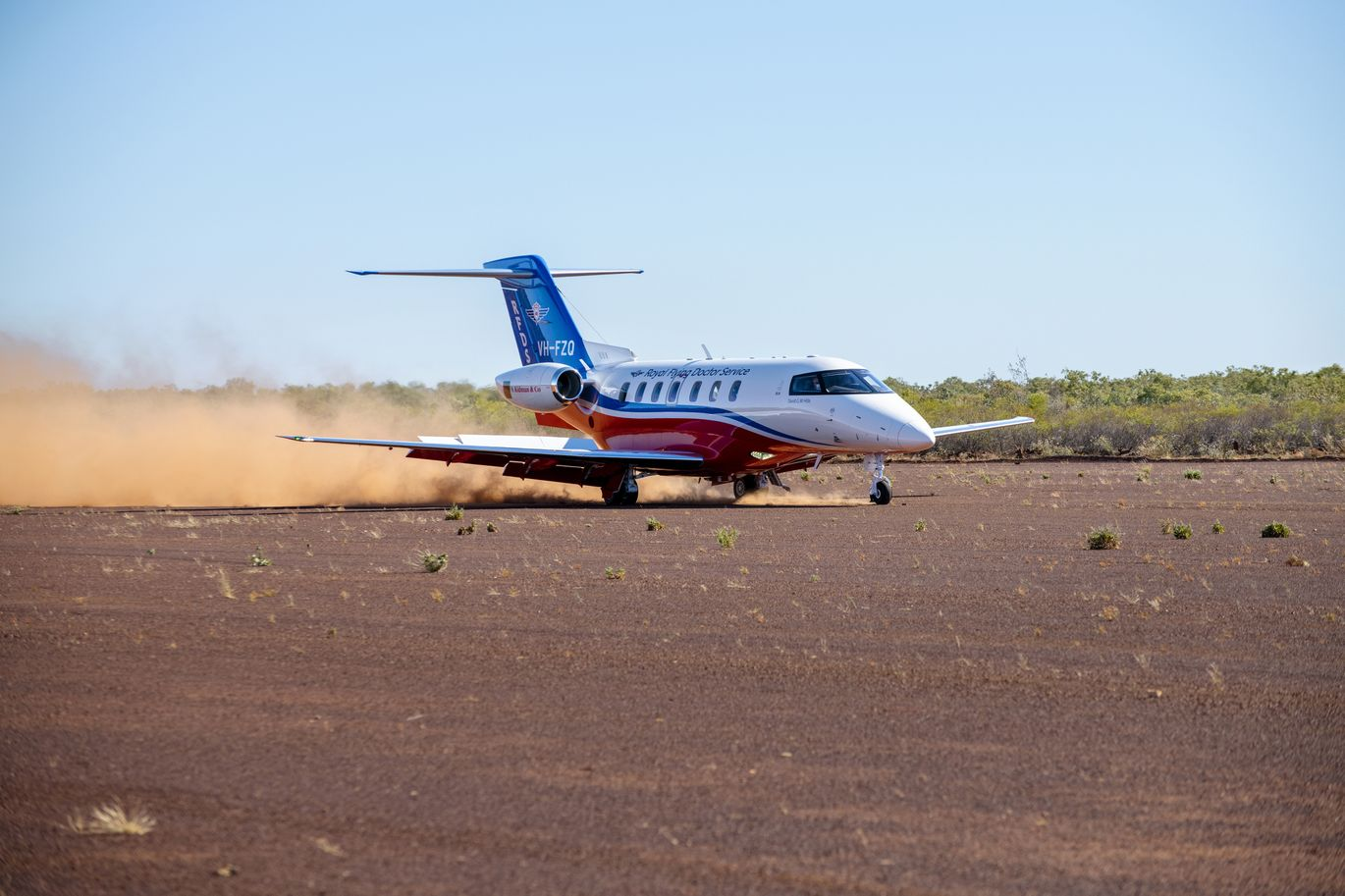 RFDS Medi-Jet 24 First Year of Service