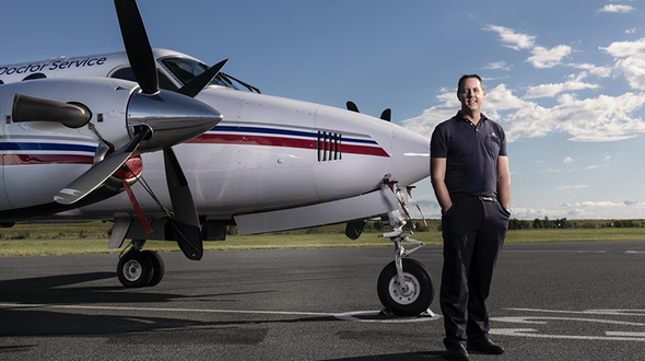 From selling spare parts to flying planes