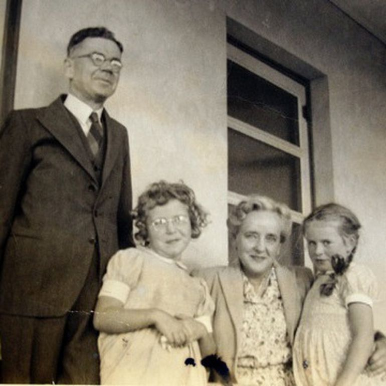 Traeger and his children