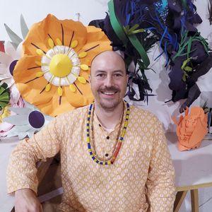 Portrait of artist Benja Harney