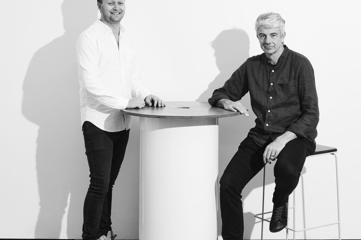 James Laffan and Seaton Mckeon, portrait