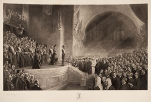 Image of Opening of first Federal Parliament by HRH the Duke of Cornwall and York, 9 May 1901