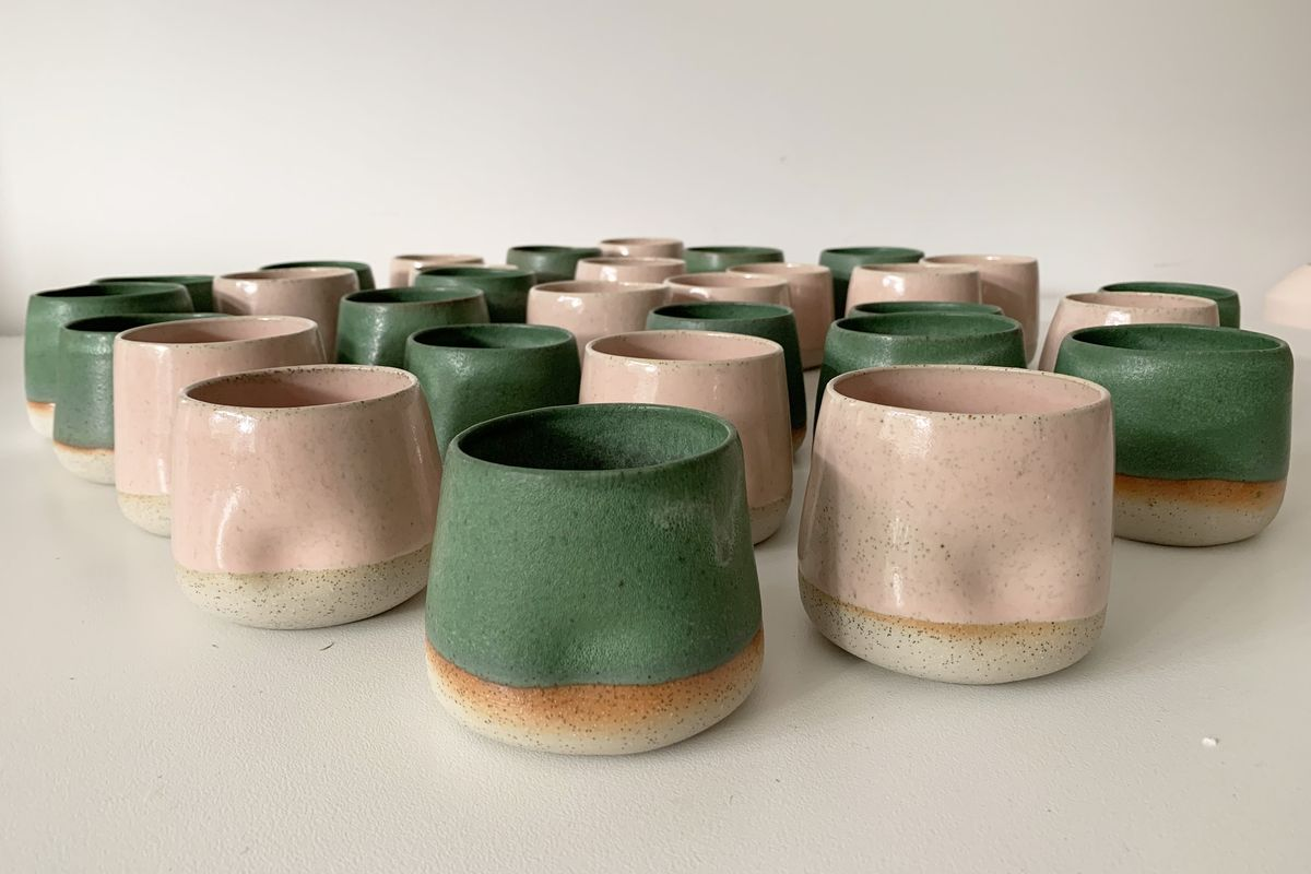 Rina Bernabei, Dimple Cups. Photo courtesy of the artist